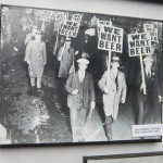 """An anti-Prohibition parade in New York, known as the """"We Want Beer"""" parade."""